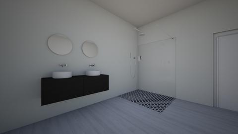 split complementary - Bathroom - by schooluser