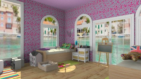 ula i lenka - Glamour - Kids room - by frodo2002