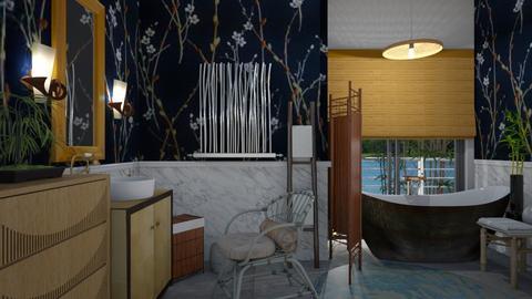 Bamboo - Bathroom - by The quiet designer