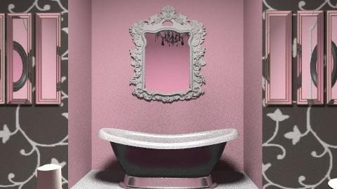 pinkoniada - Bathroom - by bibiboo