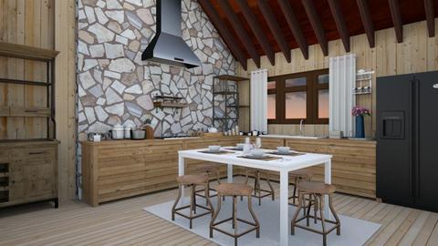 My Kitchen - Country - Kitchen - by monicamonica