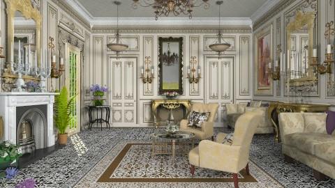 Le Grand Salon - Classic - Living room - by Bibiche