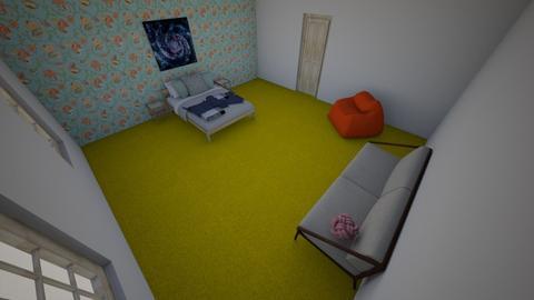 Scandinavian Nerd - Bedroom - by fozzy79