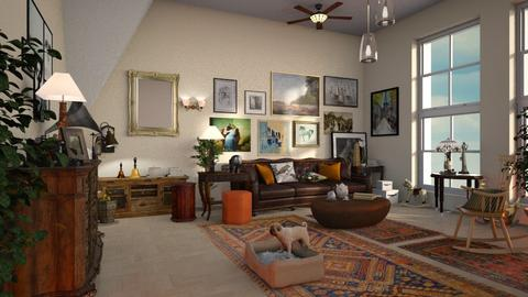 Art_Collector - Living room - by ZuzanaDesign