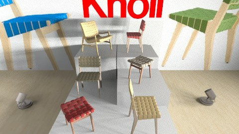 INK Exam  KNOLL - Minimal - Kids room - by chenedippenaar