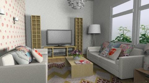 living room - by Aliya Al