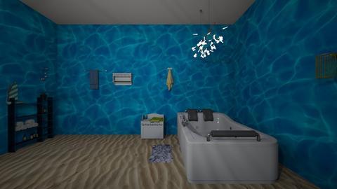 under the sea - Retro - Bathroom - by katieleigh19x