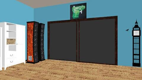 My bed room - Retro - Bedroom - by lulu lars