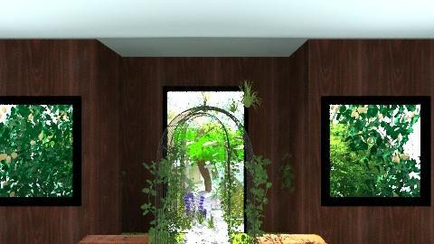 Mission Start - Retro - Garden - by padric