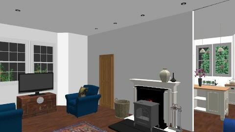 blue sofas2 - Living room - by nilou