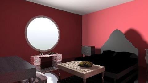redroom - Bedroom - by mslmkus