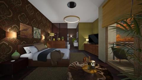 Arabic sunset - Bedroom - by evelyn19