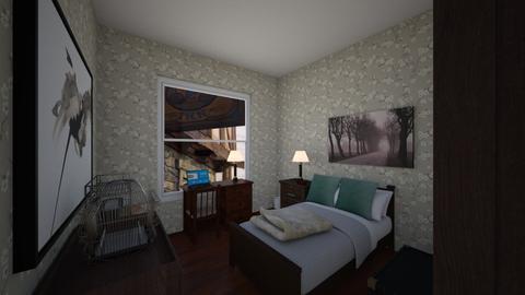 mynamejeff - Bedroom - by scourgethekid
