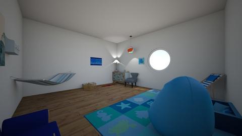 beach ocean  - Bedroom - by jenniferlzippel
