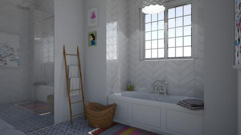 Kids Bathroom - Bedroom - by virtuestella