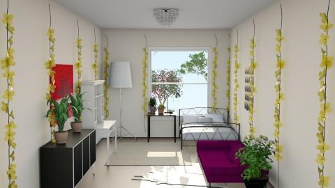 Plant Lover - Modern - Bedroom - by BeckAsHeck