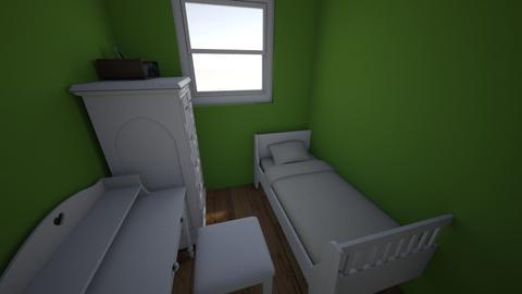 Grace - Minimal - Bedroom - by ola2435