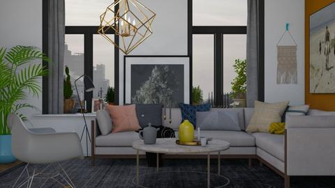 Modern Living - Modern - Living room - by HenkRetro1960
