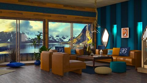 Among the Fjords - by ZsuzsannaCs