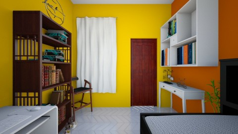 my room - Country - Bedroom - by Titli2003