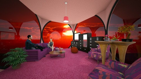 Rose Room - Eclectic - Living room - by lori gilluly