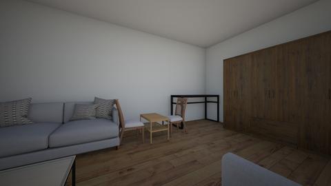 yu - Living room - by anastasiaslavinsky