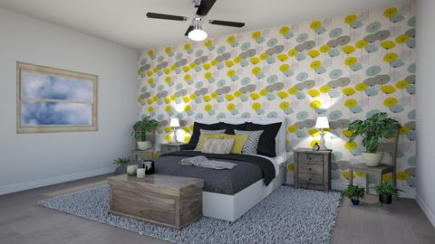 Bedroom Design  - Bedroom - by Kyla_19