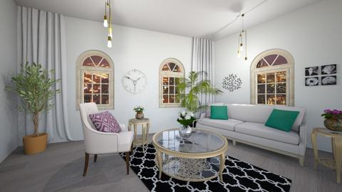 Clock Room - Living room - by mcdcha22