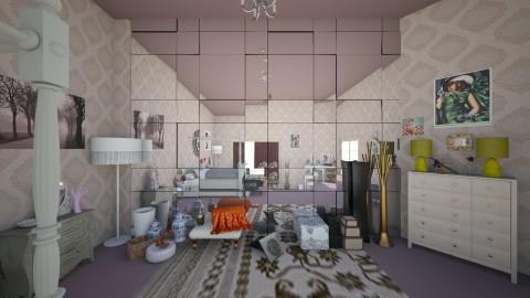 my vintage room 002 - Vintage - Bedroom - by theaphrodite