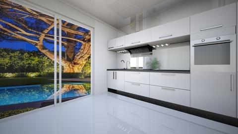 Parter - Bathroom - by andreeamotrescu