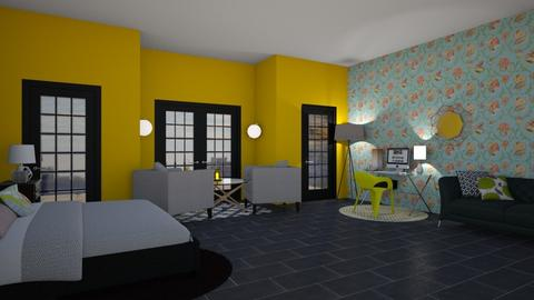Remix Bright Side - Modern - Bedroom - by stokeshannah