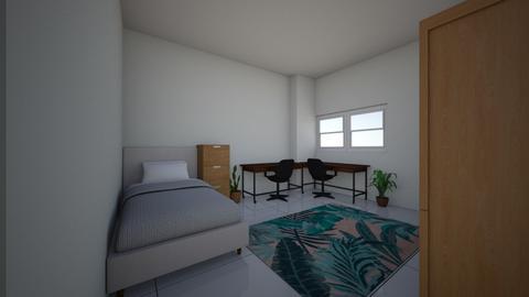 My room - Bedroom - by Tttina