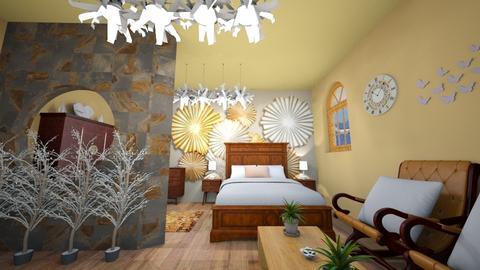 just a bedroom - Vintage - Bedroom - by zayneb_17