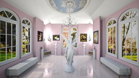 Pretty in Pink Parlor - Vintage - by  krc60