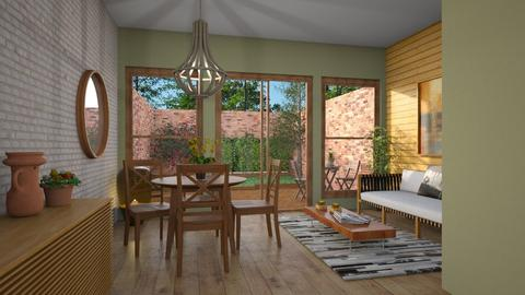 Garden template - Dining room - by Alecio