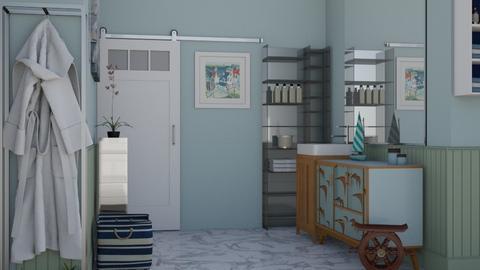 nautical - Bathroom - by Asfa Asad