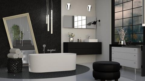 M_ D - Modern - Bathroom - by milyca8