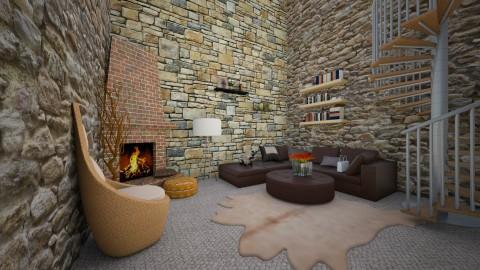Magnolia - Living room - by Ecaterina Harina
