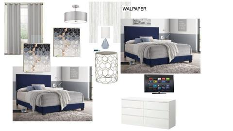 bedroom 4 Mary - by walldressingdecor