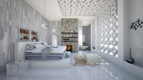 modern estetik - Modern - Bedroom - by Ida Dzanovic