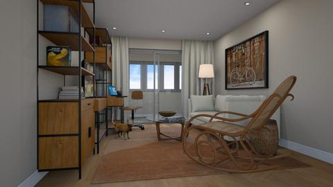Two Bedroom Living - by Valentinapenta
