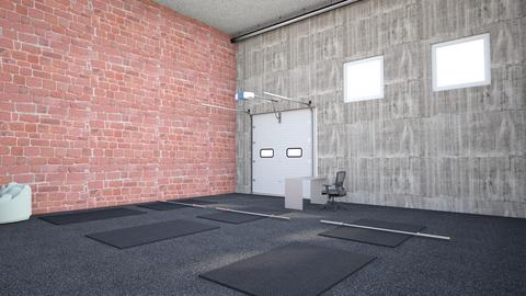 Industrial Warehouse - by rogue_19cdba9e37663cbee2463fad4a50c
