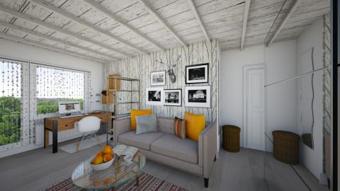 Dunaiskiy 33 living room - Living room - by Alpie