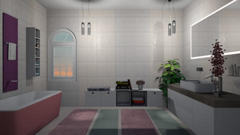 Pastel bathroom - Bathroom - by Ana Angela