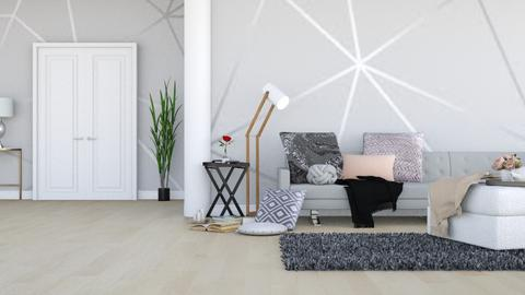 Geometric Wall - Modern - Living room - by LeilaniD04