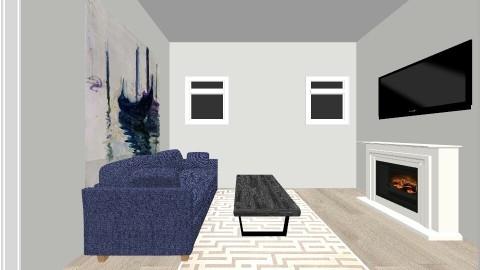 basement living area - by kristiderev