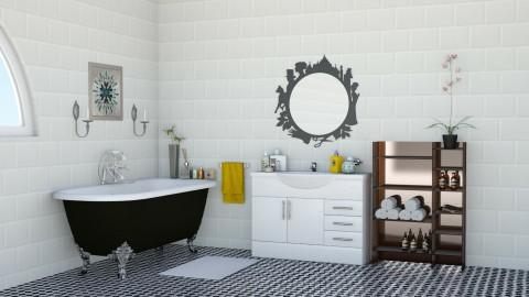 bath room - by shree moodley