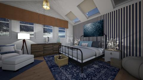 Nautical Bedroom - Bedroom - by LooseThreads