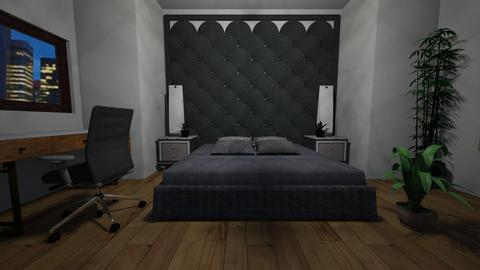 city apartment  - Bedroom - by 7th Grade