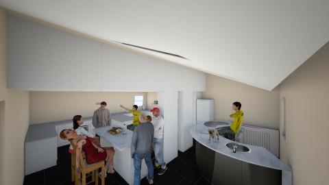 kitchen - Glamour - Kitchen - by harry122
